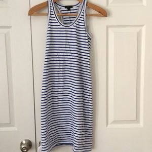 JCrew Striped Tank Dress